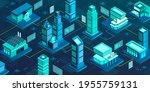 smart city network and online...   Shutterstock .eps vector #1955759131