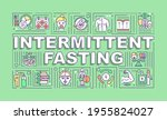 intermittent fasting word...