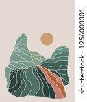 abstract landscape.... | Shutterstock .eps vector #1956003301