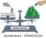 illustration of the balance.... | Shutterstock .eps vector #1956012124