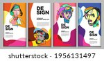 vector webinar banner template... | Shutterstock .eps vector #1956131497