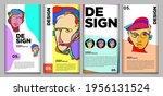 vector webinar banner template... | Shutterstock .eps vector #1956131524