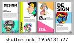 vector webinar banner template... | Shutterstock .eps vector #1956131527