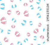 Simple Pattern Pink And Blue...
