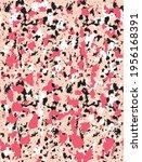 abstract leopard skin seamless... | Shutterstock .eps vector #1956168391