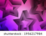 light purple  pink vector... | Shutterstock .eps vector #1956217984