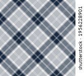 navy blue and white argyle... | Shutterstock .eps vector #1956228901