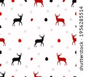 set of vector seamless patterns.... | Shutterstock .eps vector #1956285514