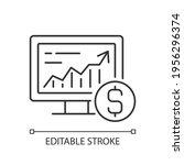 online stock trading linear... | Shutterstock .eps vector #1956296374