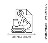 equipment leasing broker linear ... | Shutterstock .eps vector #1956296377