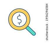 searching for money rgb color... | Shutterstock .eps vector #1956296584