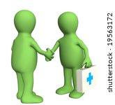 handshake | Shutterstock . vector #19563172