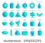 vector realistic 3d blue... | Shutterstock .eps vector #1956331291
