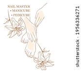 manicure master  pedicure ...   Shutterstock .eps vector #1956336271
