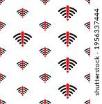 no wifi signal icon seamless... | Shutterstock .eps vector #1956337444
