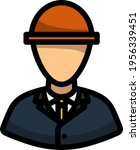 electric engineer icon.... | Shutterstock .eps vector #1956339451