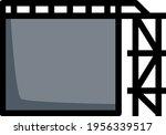 oil tank storage icon. editable ... | Shutterstock .eps vector #1956339517