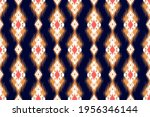 ethnic ikat geometric native... | Shutterstock .eps vector #1956346144