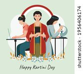 happy kartini day concept.... | Shutterstock .eps vector #1956406174