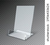 acrylic table card holder...