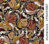 beautiful stylish seamless... | Shutterstock .eps vector #1956455887