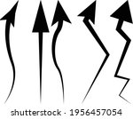 arrow sign symbol direction... | Shutterstock .eps vector #1956457054