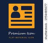 user profile square button...