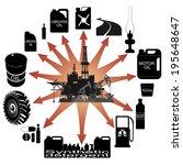 consumer goods made   from...   Shutterstock .eps vector #195648647