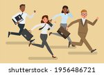 concept of business competition....   Shutterstock .eps vector #1956486721