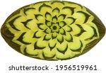 Piel De Sapo Green Carved Melon ...