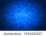 light blue polygon abstract... | Shutterstock .eps vector #1956532327