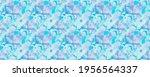 Aqua Pattern. Green Wallpaper....