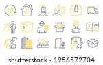 set of industrial icons  such... | Shutterstock .eps vector #1956572704