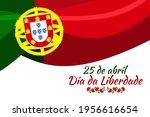 translation  april 25  freedom... | Shutterstock .eps vector #1956616654
