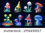 collection of vector cartoon...   Shutterstock .eps vector #1956650017