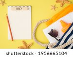 Top View Photo Of Planner With...