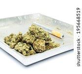 smoking weed  pot  marijuana... | Shutterstock . vector #195668519