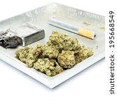smoking weed  pot  marijuana... | Shutterstock . vector #195668549