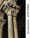 detail of two columns of a... | Shutterstock . vector #195670841