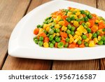 Stir Fried Beans  Corn Kernels...