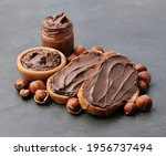 Chocolate Breakfast. Bread With ...