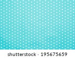 Retro Blue Polka Dot Pattern