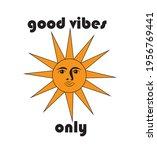 70s 80s retro slogan. good... | Shutterstock .eps vector #1956769441