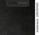 black leather texture.... | Shutterstock .eps vector #1956787624