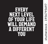 every next level of your life... | Shutterstock .eps vector #1956795697