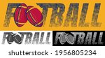 american football emblem.... | Shutterstock .eps vector #1956805234