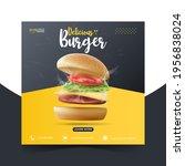food or culinary social media... | Shutterstock .eps vector #1956838024