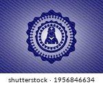 nurse icon inside jean... | Shutterstock .eps vector #1956846634