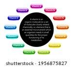 multi vitamin complex icons set....   Shutterstock .eps vector #1956875827