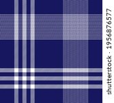 simple navy and white plaid....   Shutterstock .eps vector #1956876577